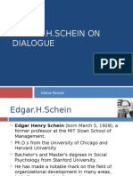Schein on Dialogue