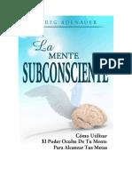 __Adenauer Greg - La Mente Subconsciente (47p.)