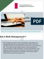 CIMA Real P3 Risk Management Exam Dumps