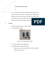 D. Daktilitas Bahan-bahan Bitumen