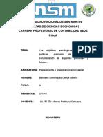 Infome Cahuza, Cbd