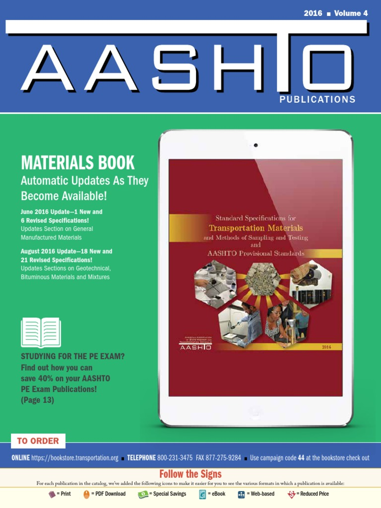 Aashto catalog specification technical standard highway fandeluxe Gallery