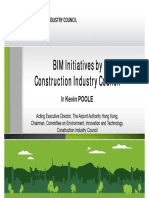 01 Kevin Poole - Introduction of BIM Inititatives by CIC