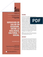 Servicios de salud en el Ecuador