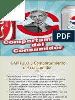 Comportamiento de Comsumidor Capitulo 5 Mercadotecnia