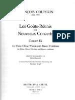 couperin - concerts royaux - 9 - oboe