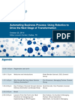 Automating Business Process Event Presentation
