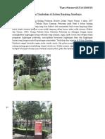 Manajemen Tumbuhan Di Kebun Binatang Surabaya