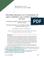 biofiltros macrofitas
