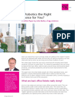 Is Robotics the Right Choice for You