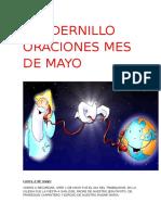 Cuadernillo Oraciones Mayo
