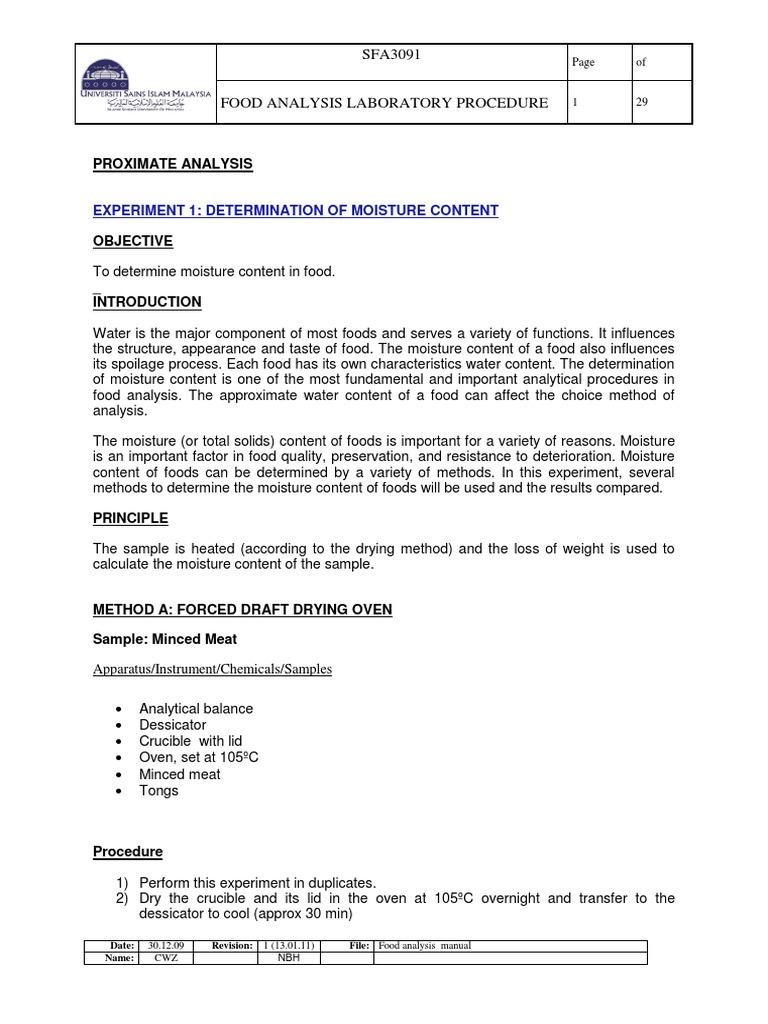 proximate analysis pdf high performance liquid chromatography rh scribd com AOAC HD AOAC- RI