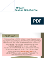 Dental Implant-pertimbangan Periodontal Edited