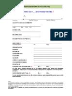 Formato 3 Estandar de Hoja de Vida-2016