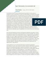 La Gran Misión Agro Venezuela y La Concresión Del Socialismo