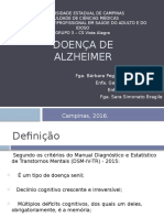 Doença de Alzheimer AULA