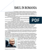 Comunismul in Romania - Ceausescu