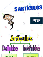 articulos indefinidos