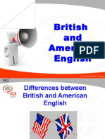 British and American English PPT