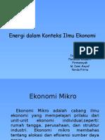 PPT Ekonomi Mikro Fix