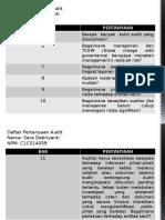 Daftar Pertanyaan Audit
