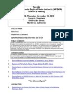 MPRWA Agenda Packet 11-10-16
