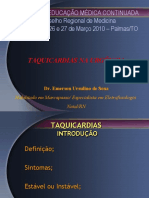 Taquicardias Na Urgencia - Aula Palmas