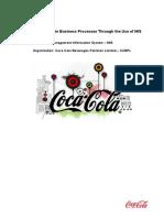 Management Information System Project - Coca Cola