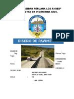 Trabajo de Diseño de Pavimentos (2do Trabajo)