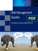 Risk Management Quotes eBook