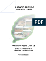 Relatorio Tecnico Ambiental - Posto