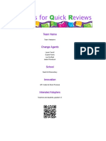 qr codes for quick review