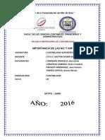 Importancia de Las Nic y Niif en La Contabilidad de Organizaciones(1)