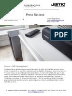 Press Release TVSOUNDBAR