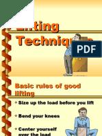 Lifting Techniques
