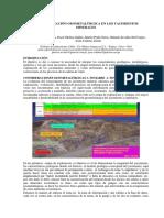 Caracterización Geometalúrgica en Los Yacimientos Minerales