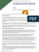 Proceso de Deshidratación _ PROCESO DE ELABORACION DE CHIPS DE FRUTAS.pdf
