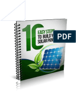 b 10 Easy Steps to Build Your Solar Panels