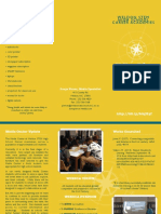 media center brochure