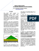 Presa Limon Olmos Analisis de Filtracion Riesgos e Incertidumbres