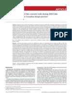 Falla a Compresion Por Temblor en Chile