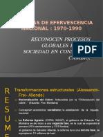 Ppt terceromedio Chilediasdeefervescencianacional