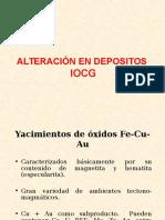 Alteraciones Hidrotermales i Ocg