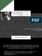 Las 20 tesis de política - Enrique Dussel - Tesis 3