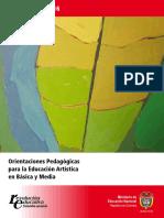 Documento 16  Orientaciones Pedagógicas para la Educacion Artísitca.pdf
