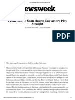From Glee to Sean Hayes- Gay Actors Play Straight - FULL.pdf