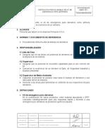SEG-IA-001 Instructivo de Uso Del Kit de Derrames