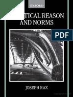 Raz, Joseph - Practical Reason and Norms
