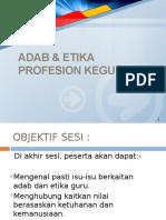 Adab Etika