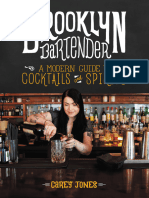 Jones Carey. Brooklyn Bartender